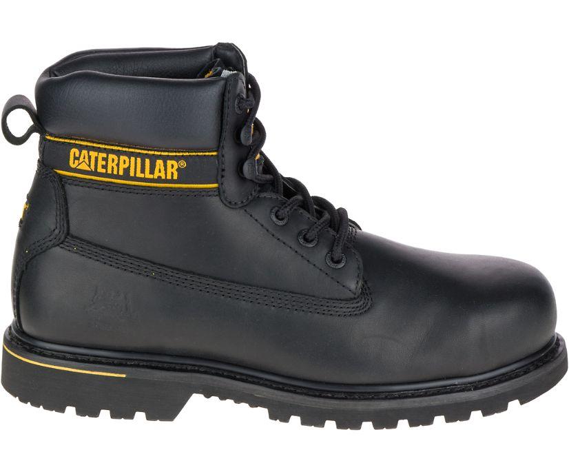 Holton Steel Toe S3 HRO SRC Work Boot, Black, dynamic