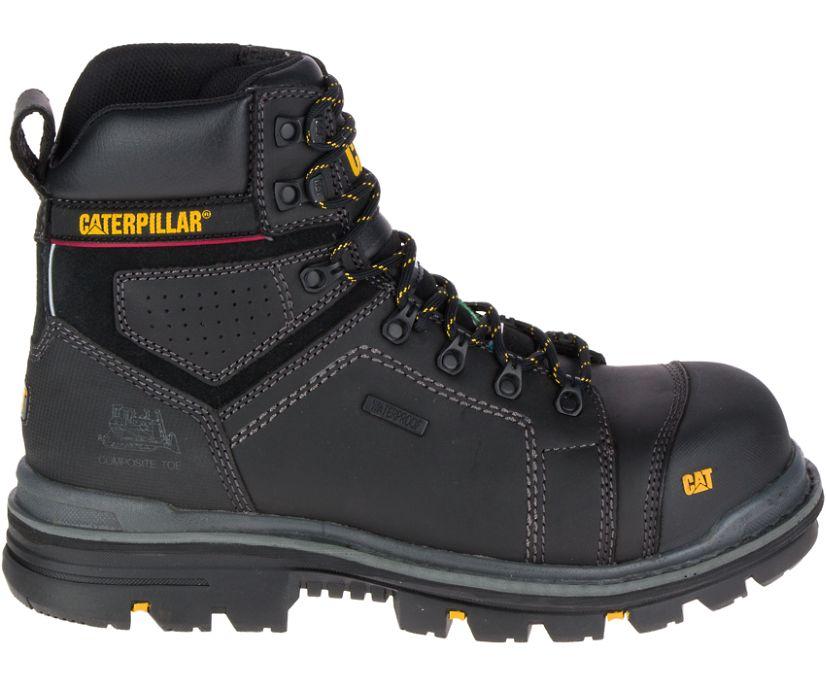 "Hauler 6"" Waterproof Composite Toe Work Boot, Black, dynamic"