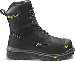 "Rasp 8"" Waterproof Met CSA Work Boot, Black, dynamic"