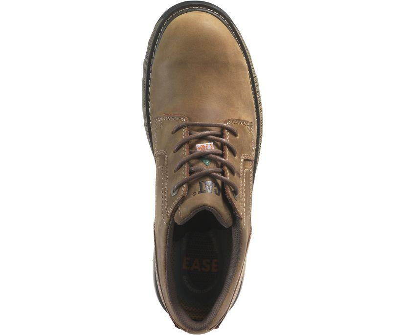 Tyndall Steel Toe CSA Work Shoe, Dark Beige, dynamic