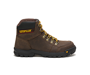 Outline Steel Toe CSA Work Boot, Brown, dynamic