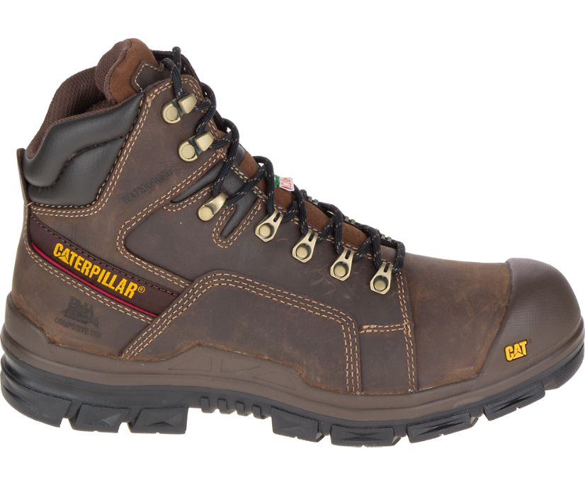 Struts Waterproof TX CSA NT Work Boot, Dark Brown, dynamic