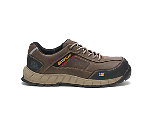 Streamline Leather CSA Composite Toe Work Shoe, Dark Gull Grey, dynamic