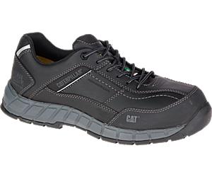 Streamline Leather CSA Composite Toe Work Shoe, Black, dynamic