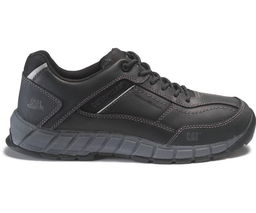 Streamline Leather Composite Toe S1P HRO SRC Work Shoe, Black, dynamic