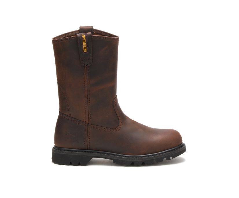 Revolver Work Boot, Brown, dynamic
