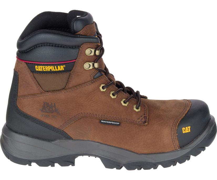 Spiro Steel Toe S3 Water Resistant HRO SRC Work Boot, Brown, dynamic