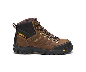 Threshold Waterproof Steel Toe CSA Work Boot, Brown, dynamic