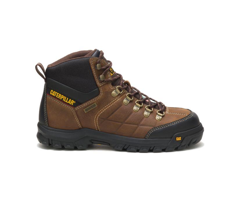Threshold Waterproof Steel Toe CSA Work Boot, Brown, dynamic