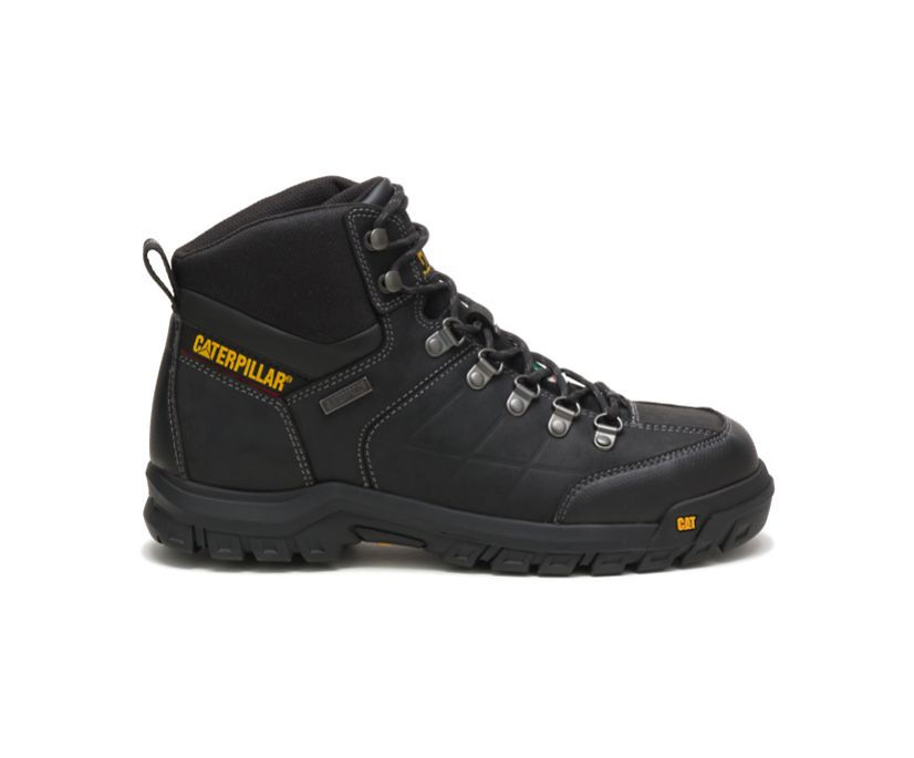 Threshold Waterproof Steel Toe CSA Work Boot, Black, dynamic