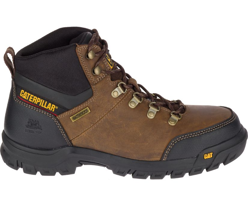 Framework S3 WR HRO SRA Steel Toe Work Boot, Seal Brown, dynamic
