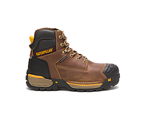 "Excavator LT 6"" Waterproof Composite Toe CSA Work Boot, Dark Beige, dynamic"