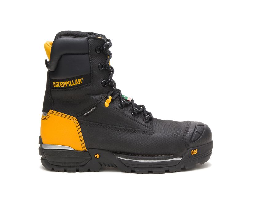 "Excavator LT 8"" Waterproof TX Composite Toe CSA Work Boot, Black, dynamic"
