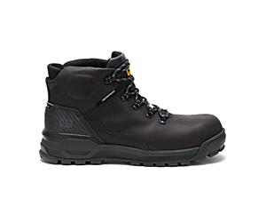 Kinetic Ice+ Waterproof Thinsulate™ Composite Toe CSA Work Boot, Black/Black, dynamic
