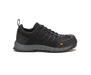 Byway S1P HRO SRC Work Shoe, Black, dynamic