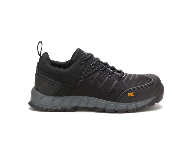 Byway S1P HRO SRC Work Shoe, Black, dynamic