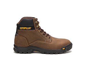 Median Steel Toe S3 Water Resistant HRO SRA Work Boot, Real Brown, dynamic