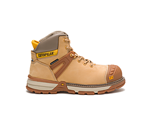 Excavator Superlite Waterproof Nano Toe CSA Work Boot, Honey Reset, dynamic