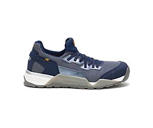 Sprint Textile Alloy Toe CSA Work Shoe, Dress Blue, dynamic