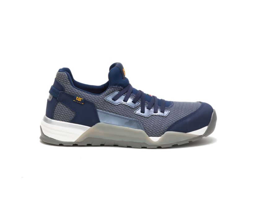 Sprint Textile Alloy Toe CSA Work Shoe, Dress Blue, dynamic