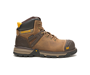 Excavator Superlite Waterproof Nano Toe CSA Work Boot, Dark Biege, dynamic