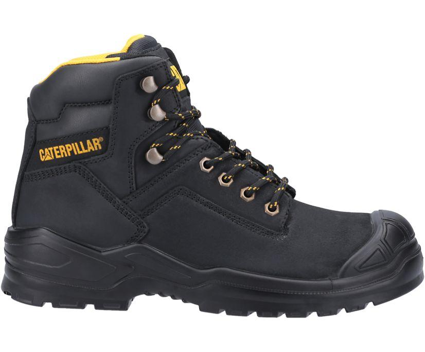 Striver Bump Steel Toe S3 SRC Work Boot, Black, dynamic
