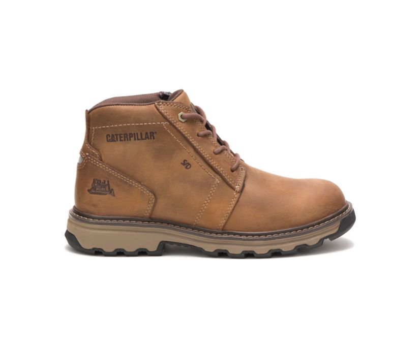 Parker Work Boot, Dark Beige, dynamic