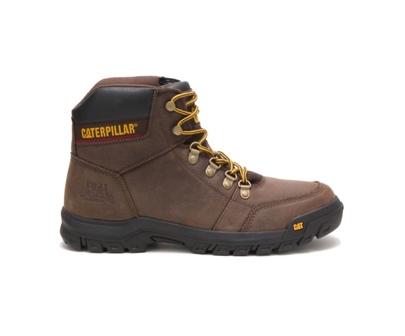 Outline Work Boot, Seal Brown, dynamic