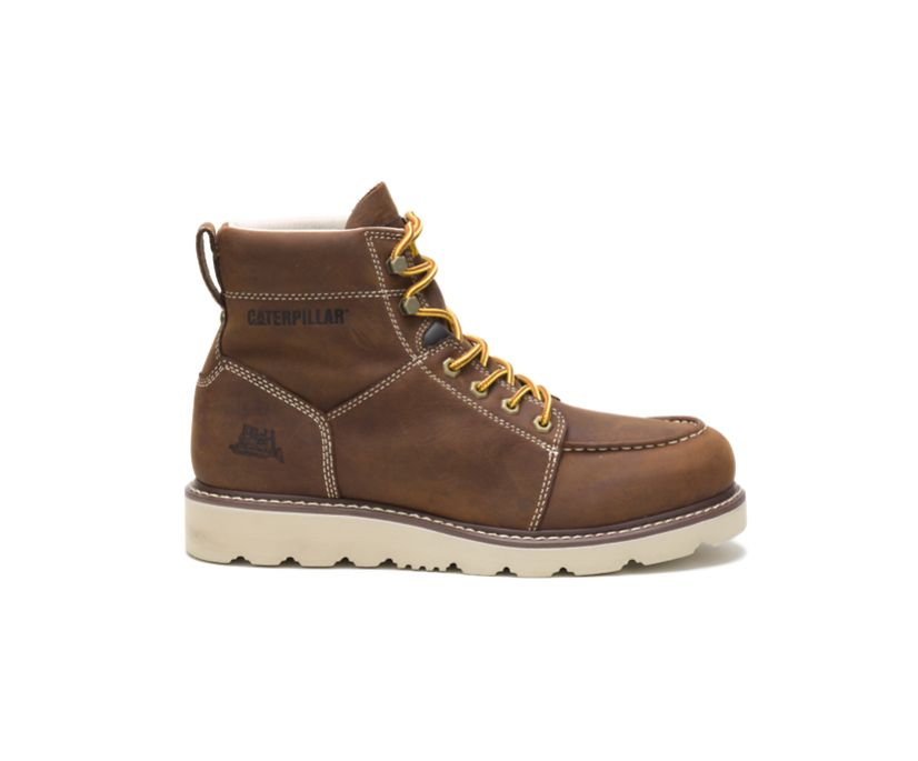 Tradesman Work Boot, Chocolate Brown, dynamic