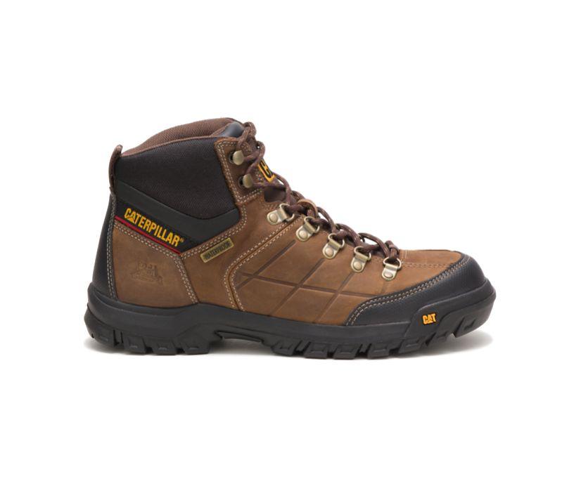 Threshold Waterproof Work Boot, Real Brown, dynamic