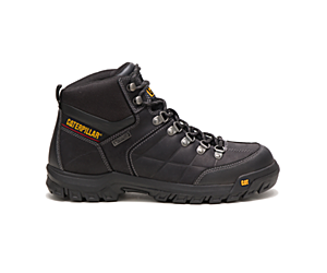 Threshold Waterproof Work Boot, Black, dynamic