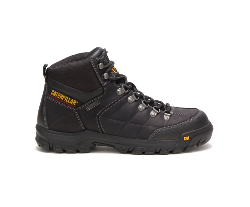 Threshold Waterproof Work Boot, Black, dynamic