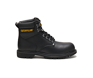 Second Shift Steel Toe Work Boot, Black, dynamic