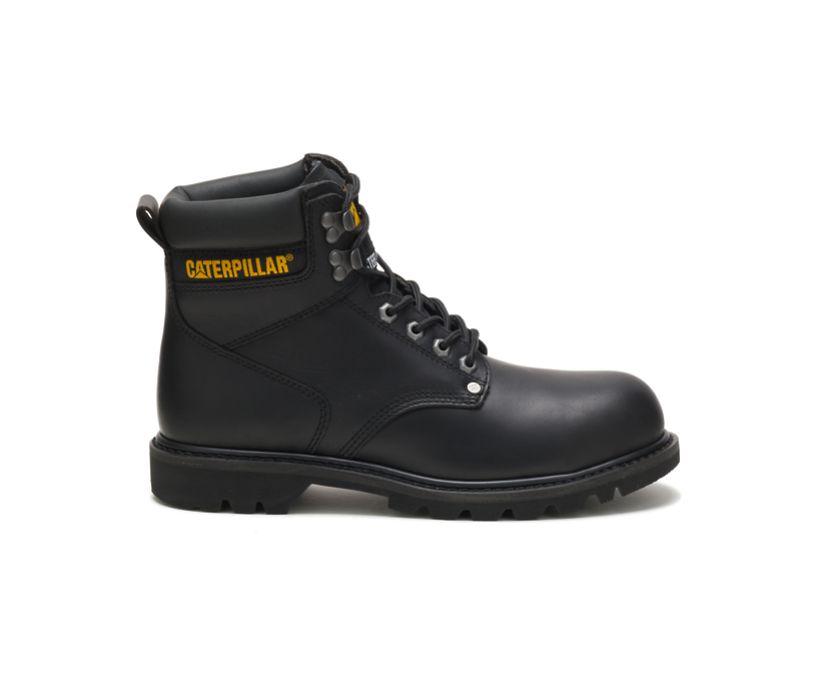 Second Shift Steel Toe Work Boot, Black, dynamic