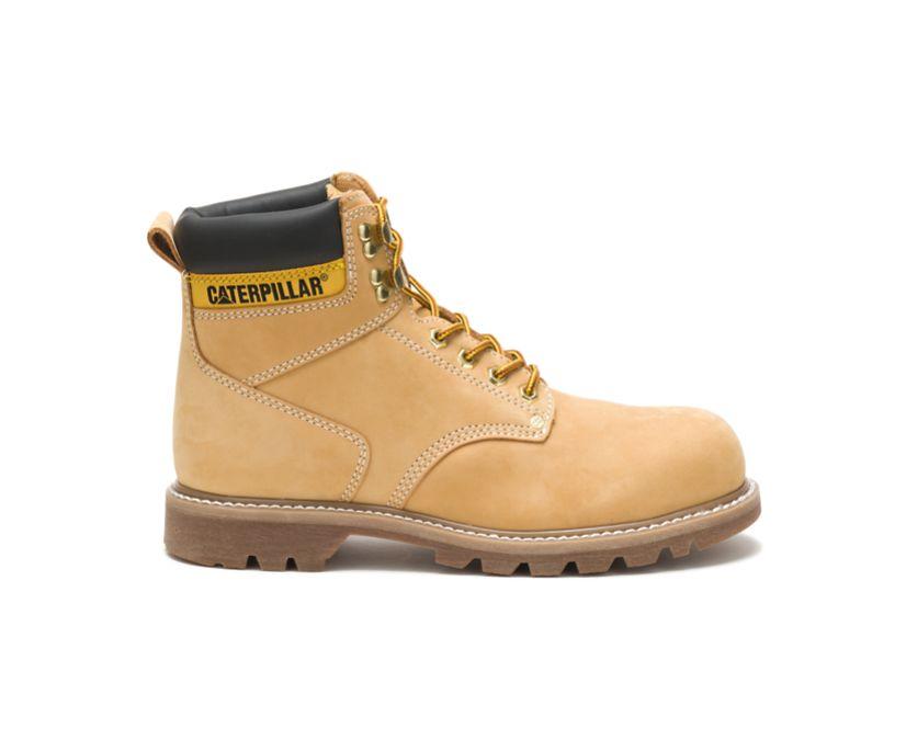 Second Shift Steel Toe Work Boot, Honey Nubuck, dynamic