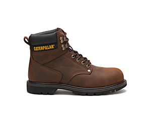 Second Shift Steel Toe Work Boot, Dark Brown, dynamic