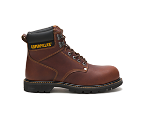 Second Shift Steel Toe Work Boot, Tan, dynamic