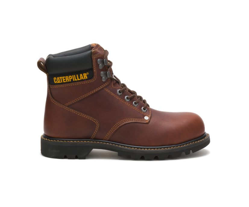 Second Shift Steel Toe Work Boot, Tan, dynamic