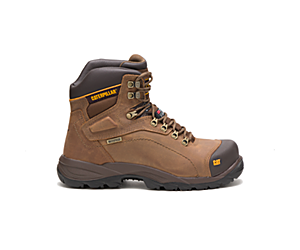 Diagnostic Hi Waterproof Thinsulate™ Steel Toe Work Boot, Dark Beige, dynamic