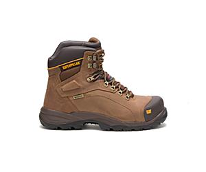 Diagnostic Hi Waterproof Thinsulate™ Steel Toe Work Boot, Dark Beige, dynamic