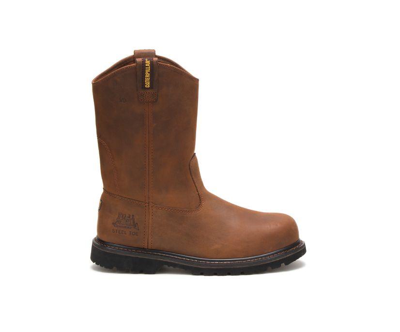 Edgework Steel Toe Work Boot, Mahogany, dynamic