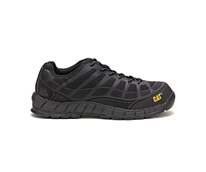 Streamline Composite Toe Work Shoe, Black/Black, dynamic
