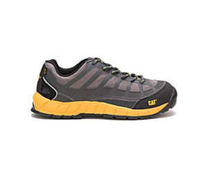 Streamline Composite Toe Work Shoe, Dark Grey, dynamic