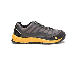 Streamline Composite Toe Work Shoe, Dark Grey, dynamic