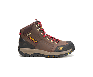 Navigator Mid Waterproof Steel Toe Work Boot, Clay, dynamic