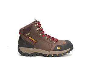 Navigator Mid Waterproof Steel Toe Work Boot, Clay, dynamic