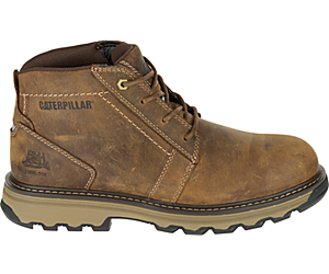 Parker Steel Toe S1P HRC SRA Work Boot, Dark Beige, dynamic