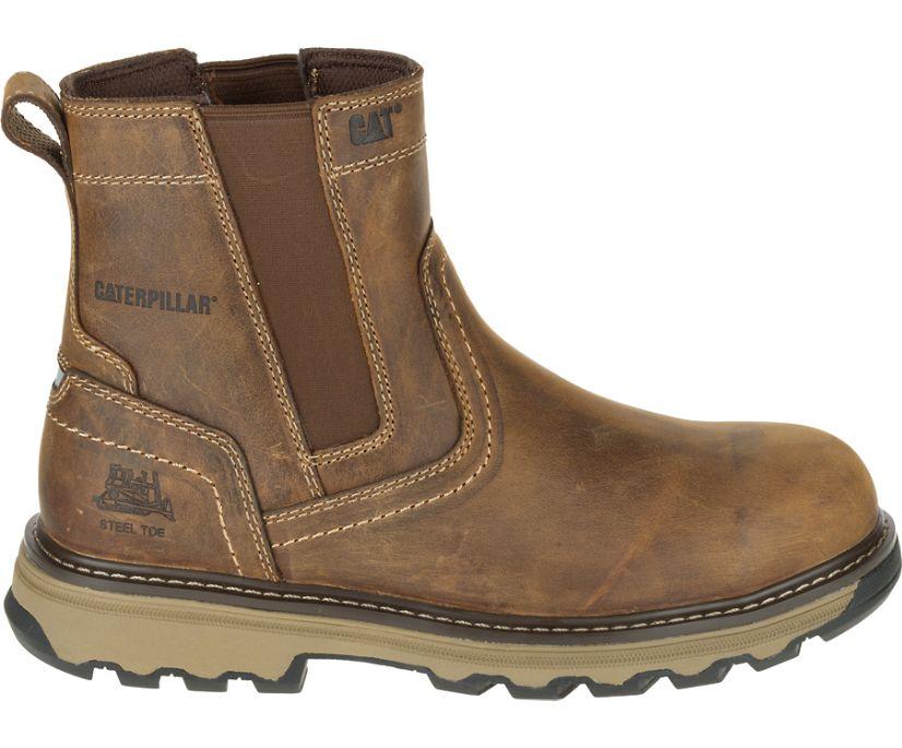 Pelton Steel Toe S1P HRO SRA Work Boot, Dark Beige, dynamic