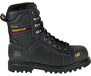 "Control 8"" Waterproof Composite Toe CSA Work Boot, Black, dynamic"