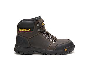 Outline Steel Toe Work Boot, Dark Gull Grey, dynamic